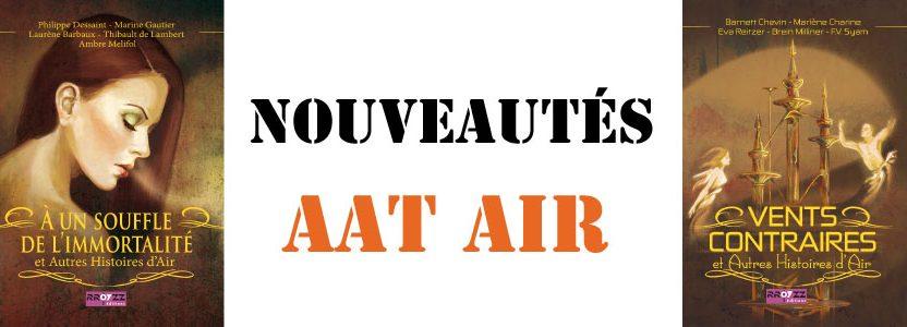AAT AIR – les 2 recueils sont disponibles