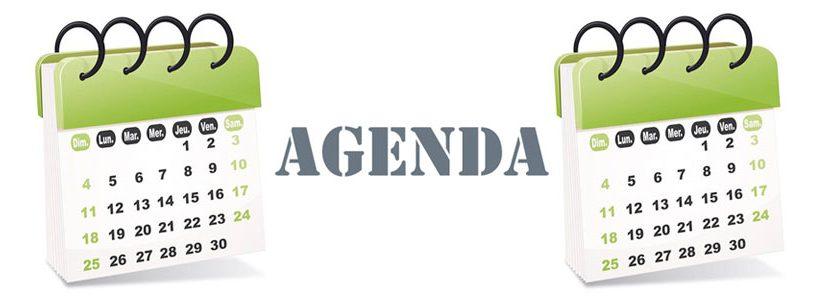Agenda Octobre – Novembre – Décembre 2017
